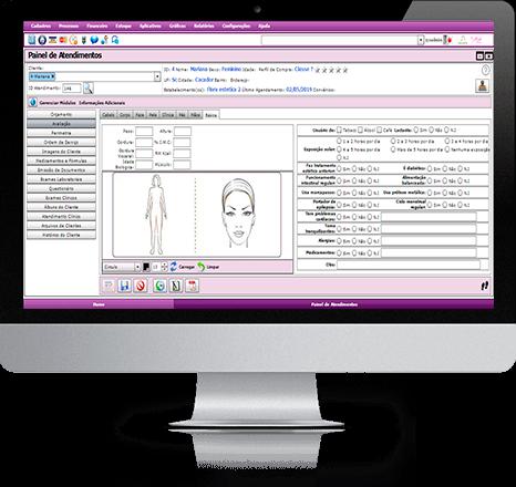 Belle Software para computador